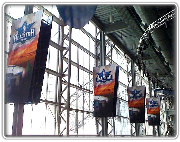 super bowl sign installation service